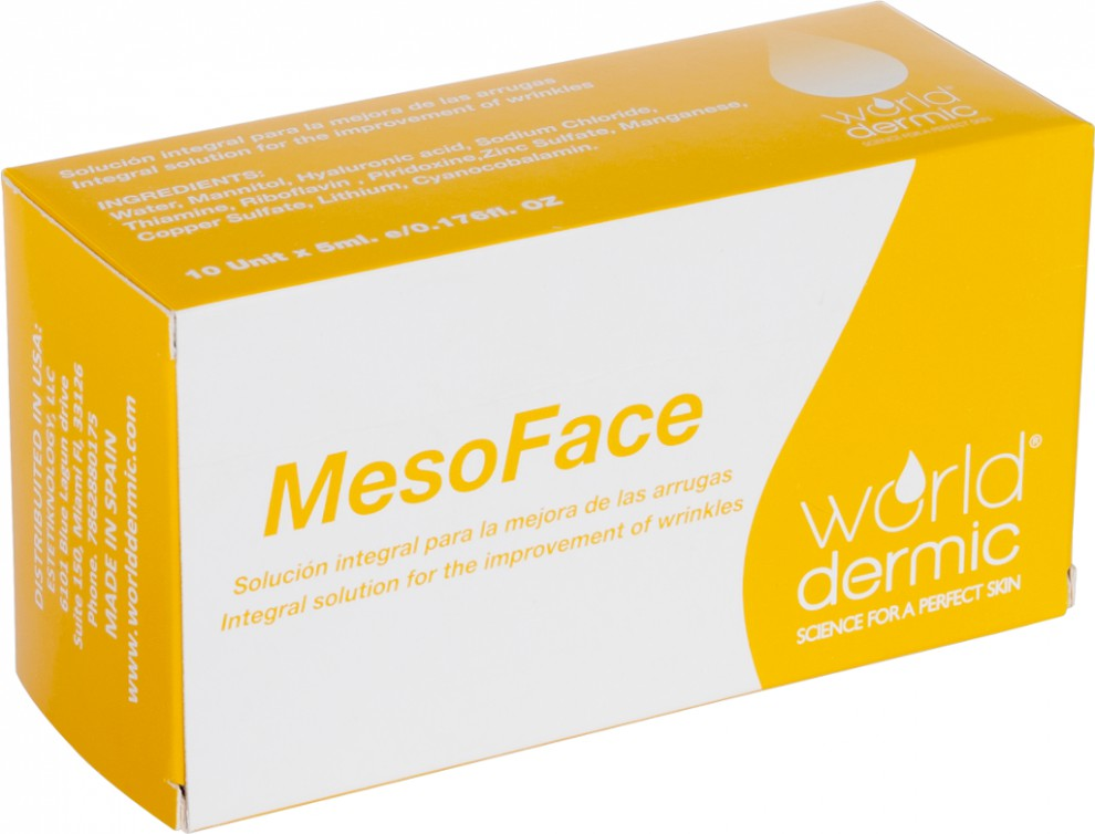 Mesoface (cocktail antiaging)  10*5ml